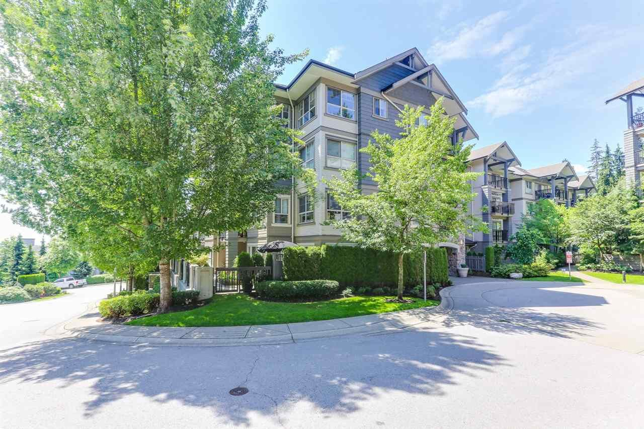 """Main Photo: 111 2958 WHISPER Way in Coquitlam: Westwood Plateau Condo for sale in """"SUMMERLIN @  SILVER SPRINGS"""" : MLS®# R2455365"""