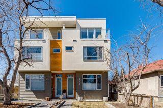 Main Photo: 213 8 Street NE in Calgary: Bridgeland/Riverside Semi Detached for sale : MLS®# A1098789
