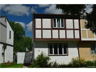 Photo 1: 75 Gendreau Avenue in Winnipeg: St Norbert Residential for sale (1Q)  : MLS®# 1707404