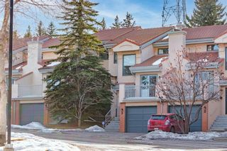 Photo 1: 9 5810 PATINA Drive SW in Calgary: Patterson Row/Townhouse for sale : MLS®# A1077604