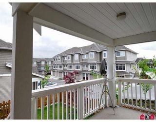 """Photo 9: 15 6852 193RD Street in Surrey: Clayton Townhouse for sale in """"Indigo"""" (Cloverdale)  : MLS®# F2817479"""