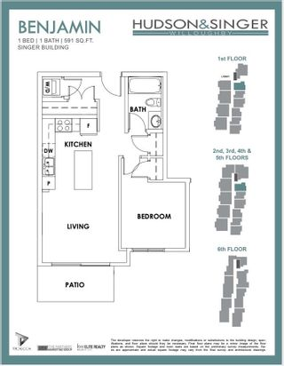 """Photo 17: 402B 20838 78B Avenue in Langley: Willoughby Heights Condo for sale in """"Hudson & Singer"""" : MLS®# R2594495"""