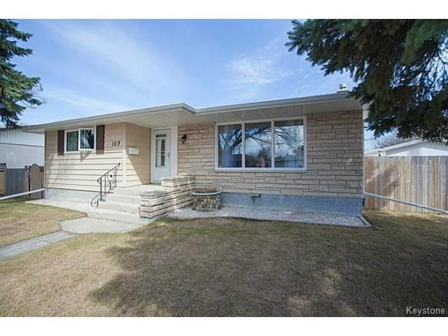 Main Photo: 163 McMeans Avenue East in Winnipeg: Transcona Single Family Detached for sale : MLS®# 1510345