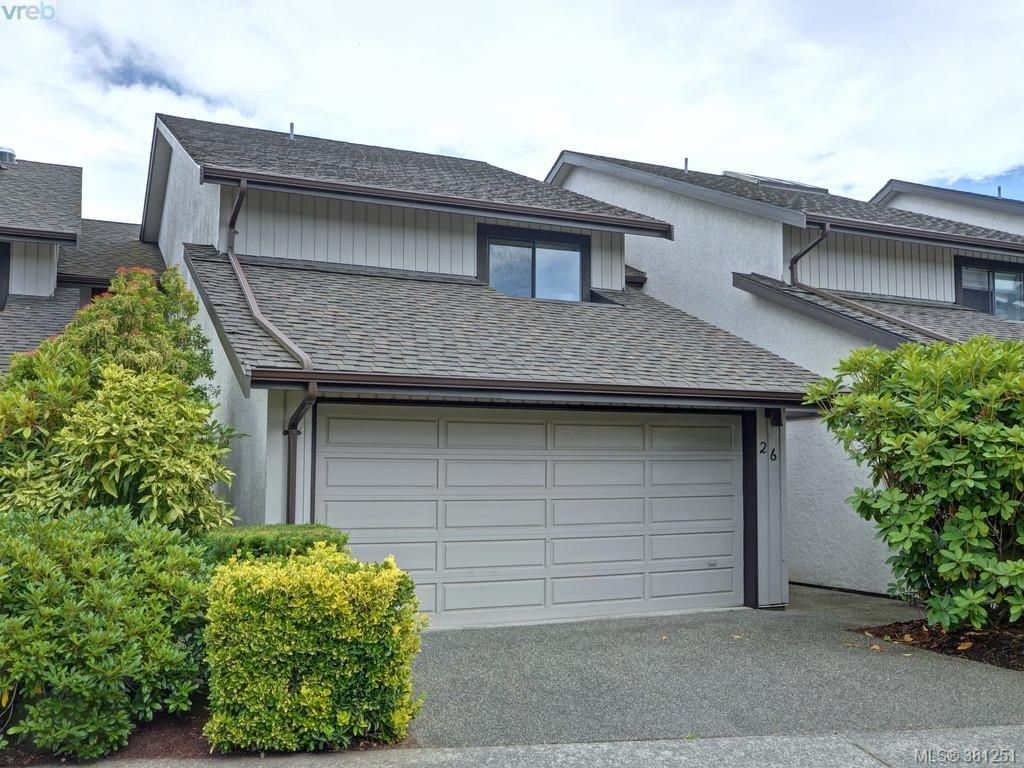 Main Photo: 26 10457 Resthaven Dr in SIDNEY: Si Sidney North-East Row/Townhouse for sale (Sidney)  : MLS®# 766051