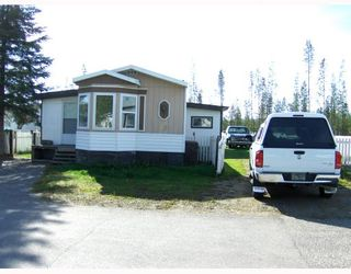 """Photo 2: 27 5125 NORTH NECHAKO Road in Prince_George: Nechako Bench Manufactured Home for sale in """"EVERGREEN TRAILER PARK"""" (PG City North (Zone 73))  : MLS®# N176575"""
