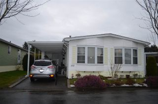 """Photo 1: 105 2303 CRANLEY Drive in Surrey: King George Corridor Manufactured Home for sale in """"SUNNYSIDE ESTATES"""" (South Surrey White Rock)  : MLS®# R2146225"""