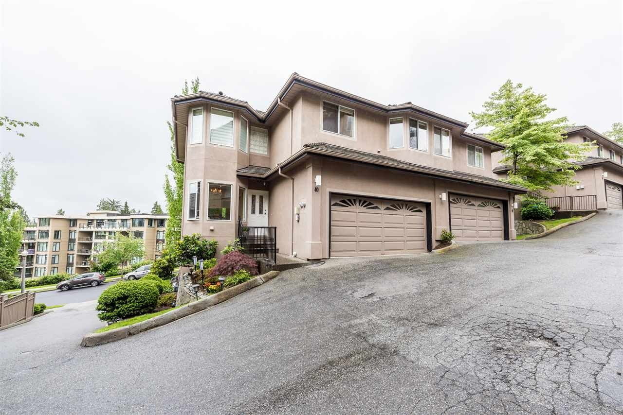 """Main Photo: 40 2951 PANORAMA Drive in Coquitlam: Westwood Plateau Townhouse for sale in """"STONEGATE ESTATES"""" : MLS®# R2285642"""
