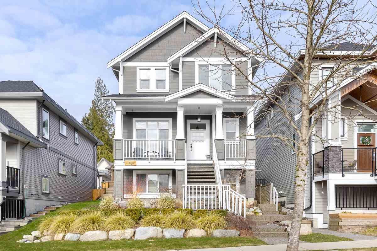 Main Photo: 1 3393 DARWIN Avenue in Coquitlam: Burke Mountain House for sale : MLS®# R2538600