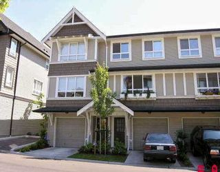 """Photo 1: 8 6747 203RD ST in Langley: Willoughby Heights Townhouse for sale in """"SAGEBROOK"""" : MLS®# F2614776"""