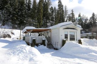 Main Photo: 13 4428 Barriere Town Road in Barriere: BA Manufactured Home for sale (NE)  : MLS®# 155443