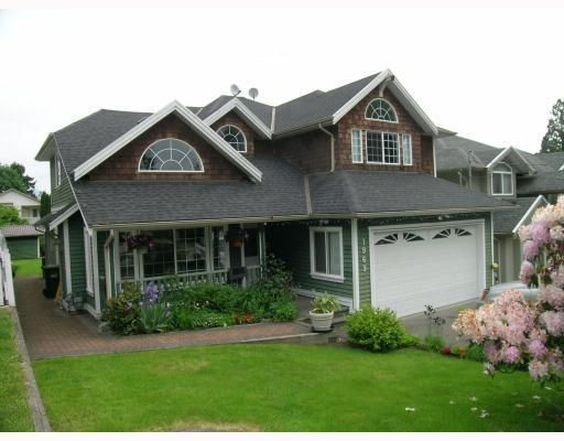 Main Photo: 1969 MORGAN Avenue in Port_Coquitlam: Lower Mary Hill House for sale (Port Coquitlam)  : MLS®# V774595