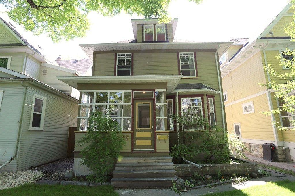 Photo 1: Photos: 453 Greenwood Place in Winnipeg: Wolseley Single Family Detached for sale (West Winnipeg)  : MLS®# 1516914