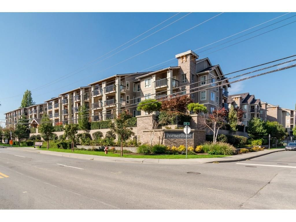 "Main Photo: 408 21009 56 Avenue in Langley: Salmon River Condo for sale in ""Cornerstone"" : MLS®# R2534163"