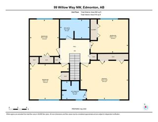 Photo 47: 99 Willow Way in Edmonton: Zone 22 House for sale : MLS®# E4229468