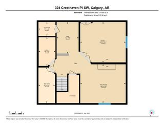 Photo 35: 324 Cresthaven Place SW in Calgary: Crestmont Detached for sale : MLS®# A1118546