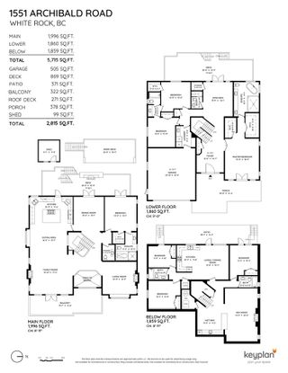 """Photo 40: 1551 ARCHIBALD Road: White Rock House for sale in """"West White Rock"""" (South Surrey White Rock)  : MLS®# R2584114"""
