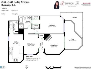 Photo 3: 105 5656 HALLEY Avenue in Burnaby: Central Park BS Condo for sale (Burnaby South)  : MLS®# R2480462