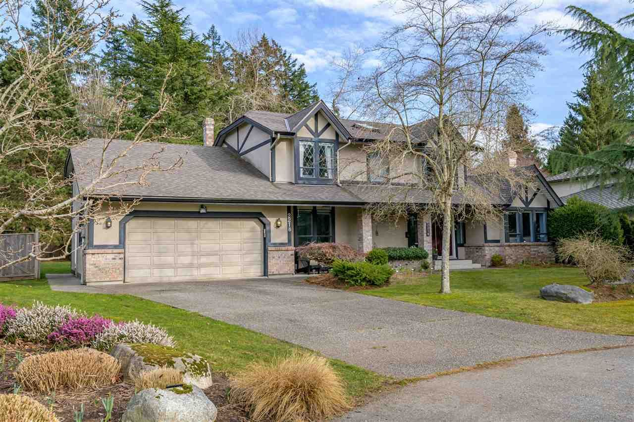 "Main Photo: 2218 129B Street in Surrey: Crescent Bch Ocean Pk. House for sale in ""OCEAN PARK TERRACE"" (South Surrey White Rock)  : MLS®# R2550498"