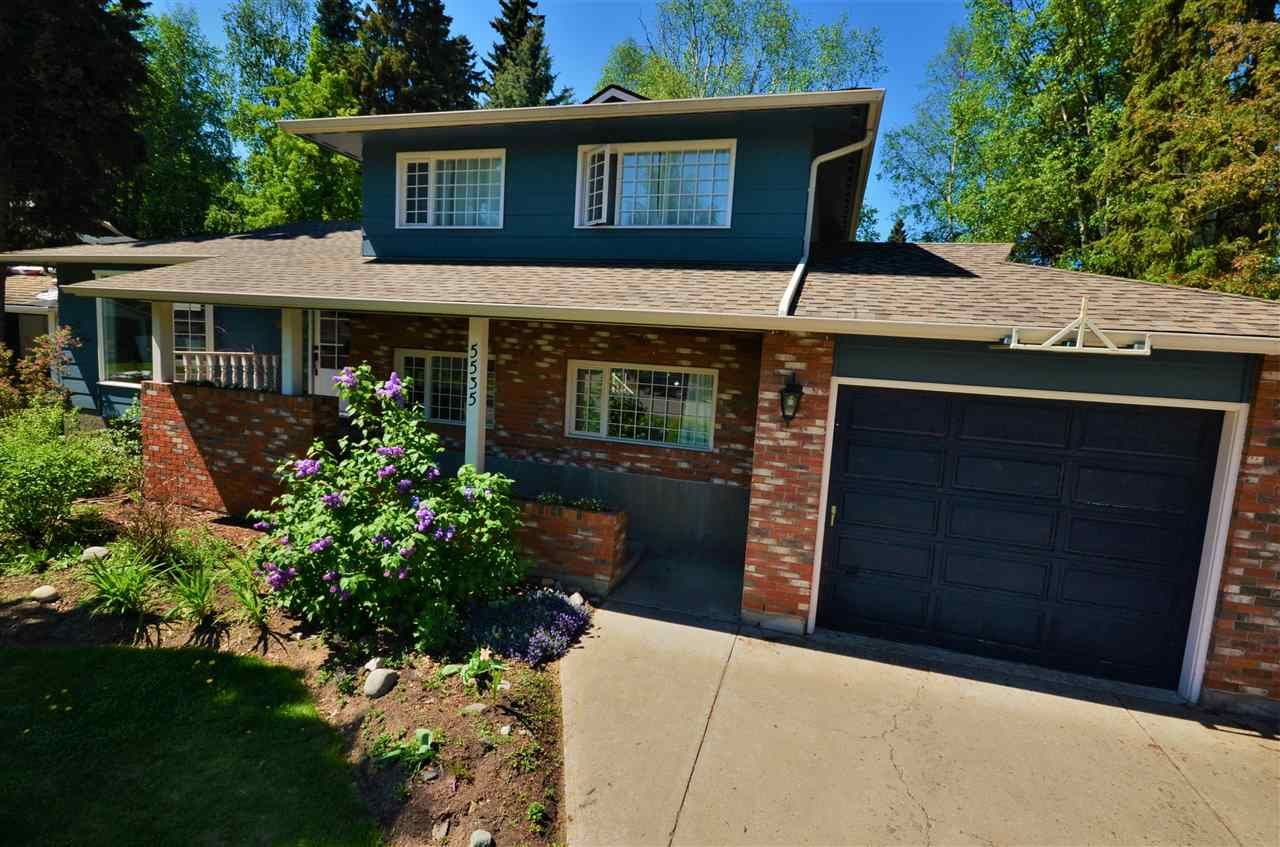 Main Photo: 5535 MADDEN Place in Prince George: Upper College House for sale (PG City South (Zone 74))  : MLS®# R2272465