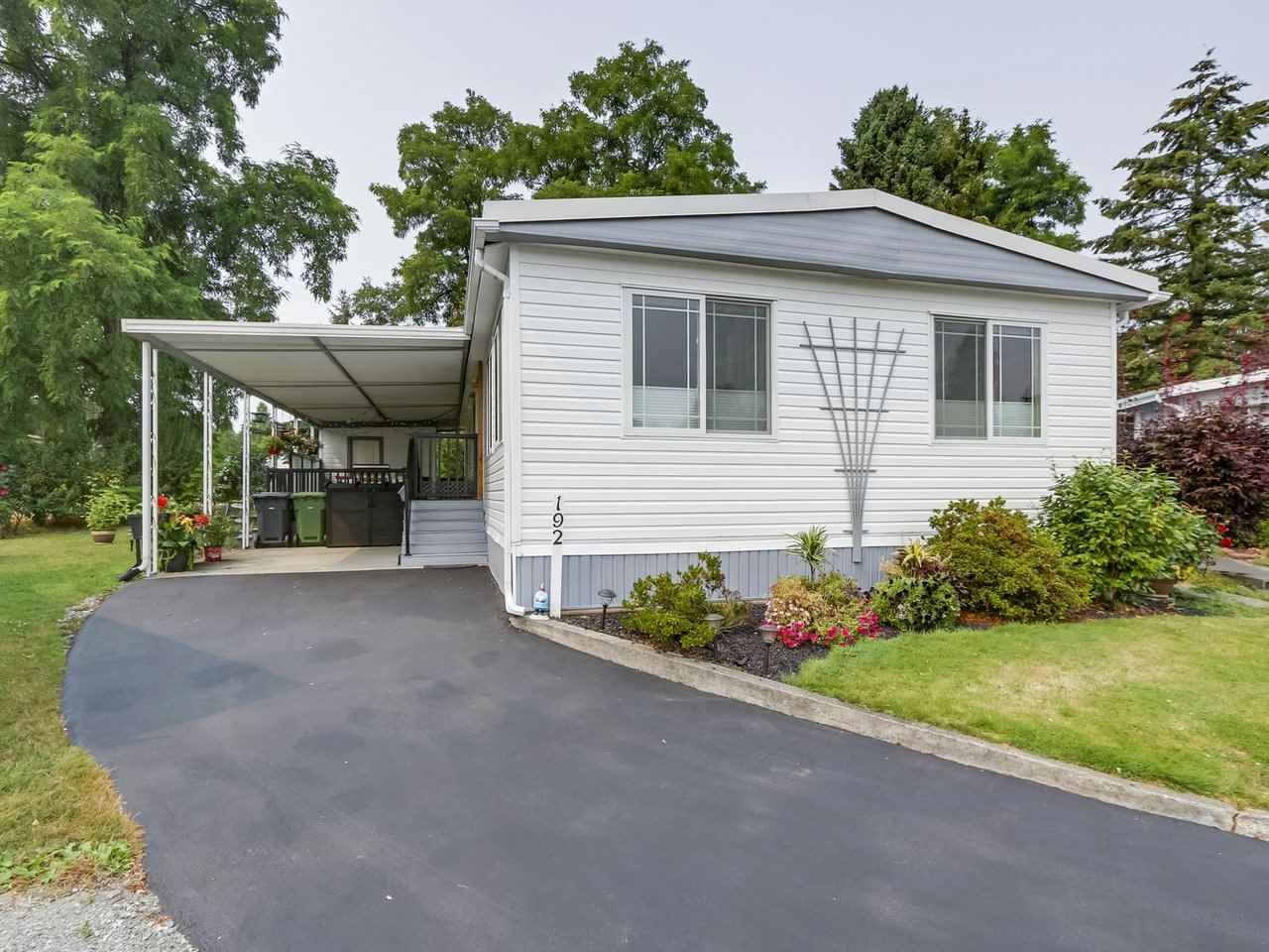 Main Photo: 192 1840 160 STREET in : White Rock Manufactured Home for sale : MLS®# R2297390
