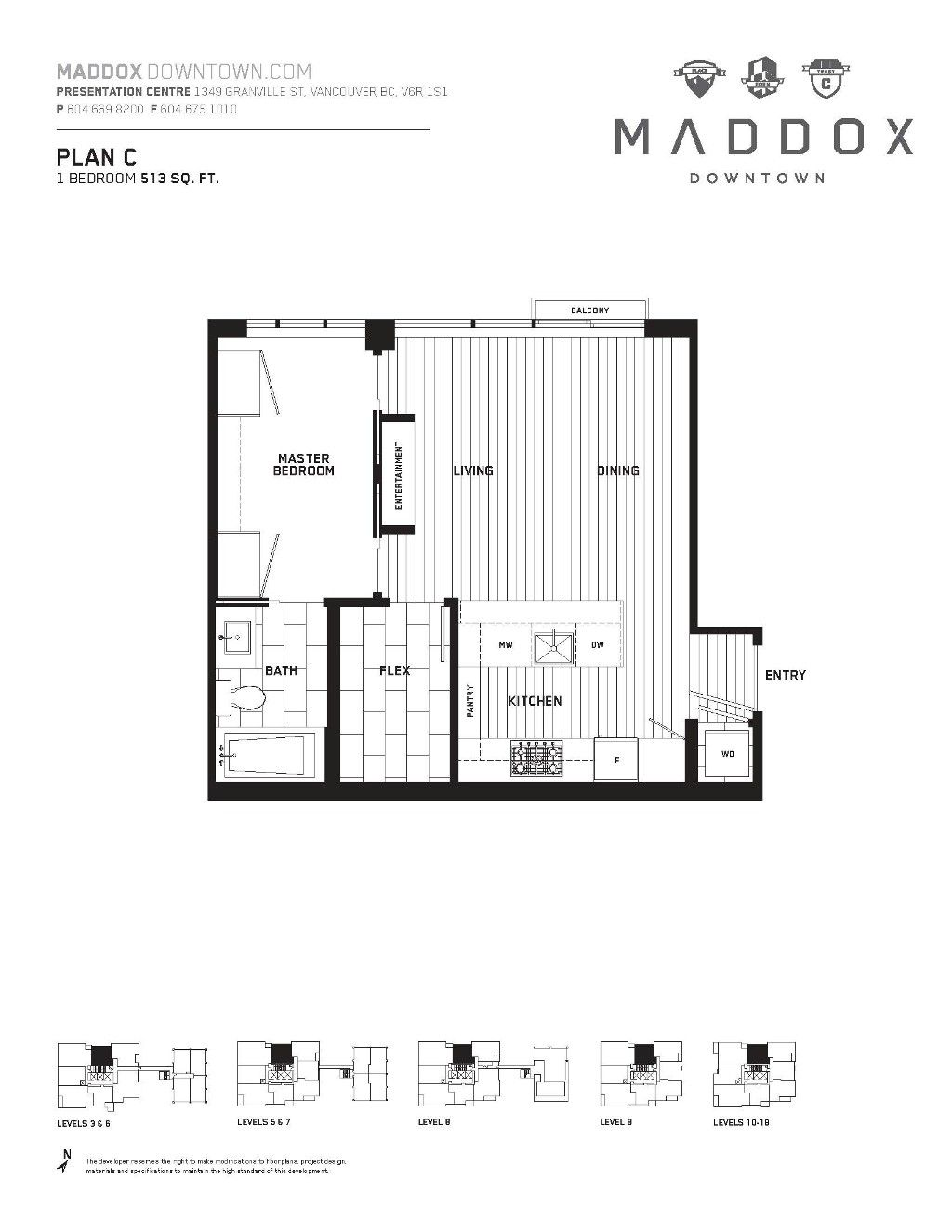 Main Photo: 509 1351 Continental Street in Vancouver: Downtown Condo for sale (Vancouver West)