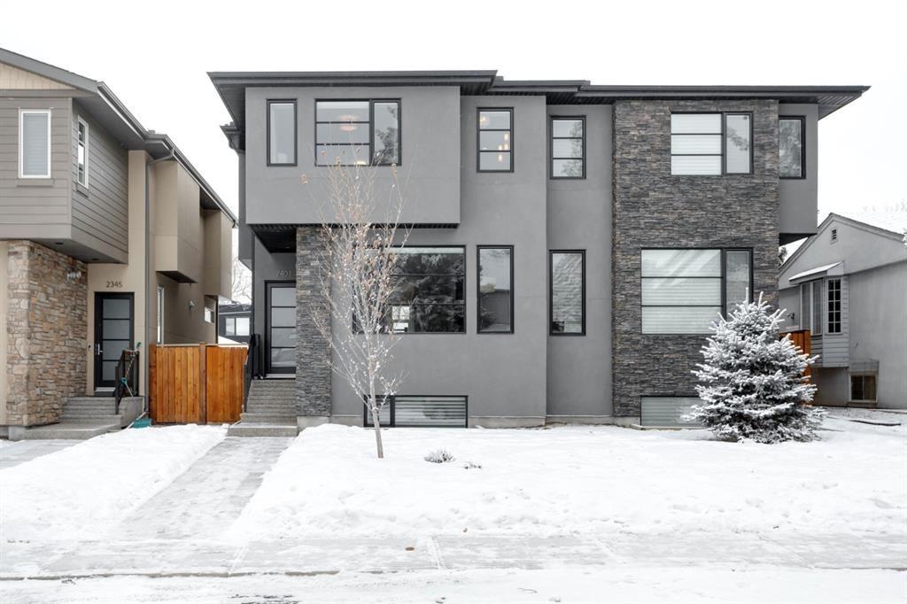 Main Photo: 2401 22 Avenue SW in Calgary: Richmond Semi Detached for sale : MLS®# A1064286