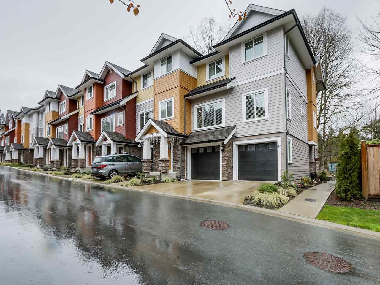 """Main Photo: 19 1219 BURKE MOUNTAIN Street in Coquitlam: Burke Mountain Townhouse for sale in """"REEF"""" : MLS®# R2059650"""