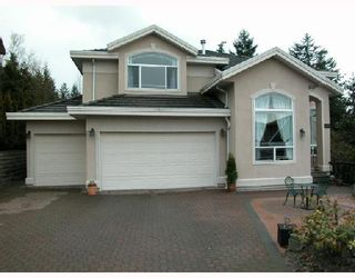 Photo 1: 2989 FORESTRIDGE Place in Coquitlam: Westwood Plateau House for sale : MLS®# V694874