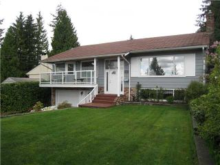 Photo 1: 794 Montroyal Boulevard in North Vancouver: Canyon Heights NV House for sale : MLS®# V825743