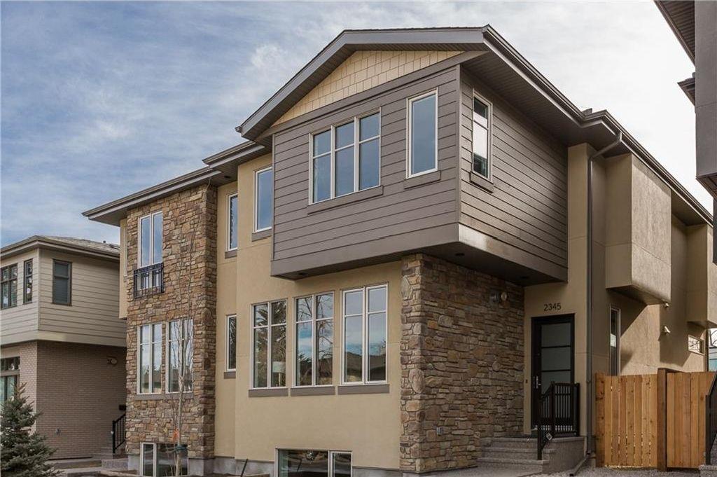 Main Photo: 2345 22 Avenue SW in Calgary: Richmond House for sale : MLS®# C4127248