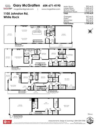 """Photo 26: 1105 JOHNSTON Road: White Rock House for sale in """"Hillside"""" (South Surrey White Rock)  : MLS®# R2577715"""