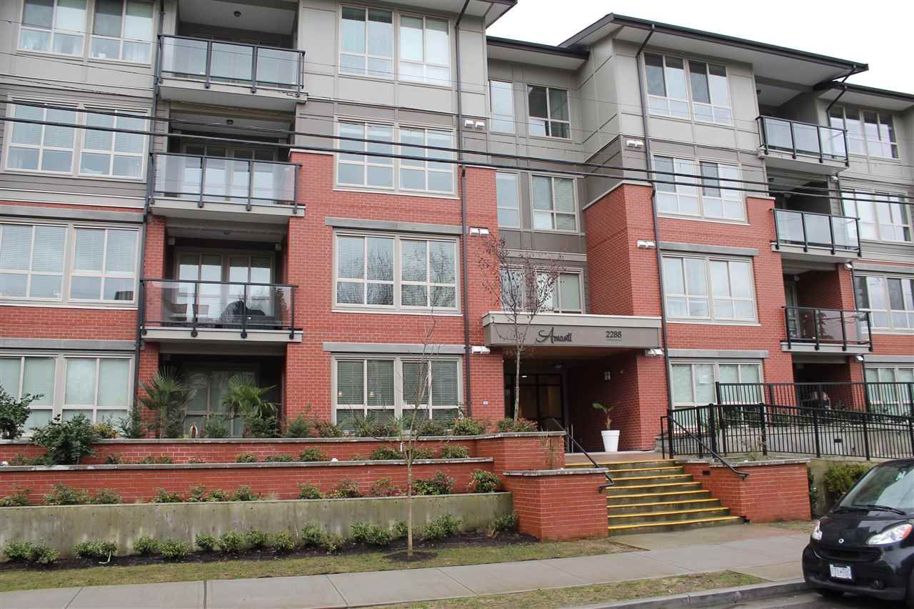 """Main Photo: 103 2288 WELCHER Avenue in Port Coquitlam: Central Pt Coquitlam Condo for sale in """"AMANTI ON WELCHER"""" : MLS®# R2148920"""