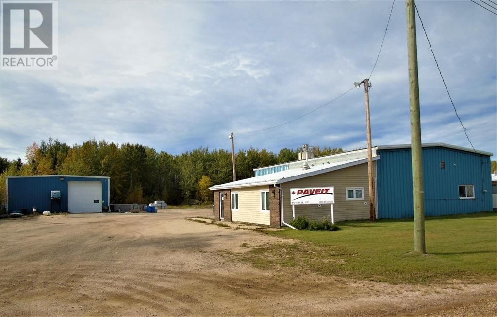 Main Photo: 912 8 Street NW in Slave Lake: Industrial for sale : MLS®# A1148860