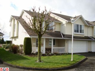 Photo 1: 50 31255 UPPER MACLURE Road in Abbotsford: Abbotsford West Townhouse for sale : MLS®# F1208249