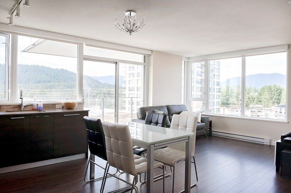 Main Photo: 804 570 EMERSON Street in Coquitlam: Coquitlam West Condo for sale : MLS®# R2399005