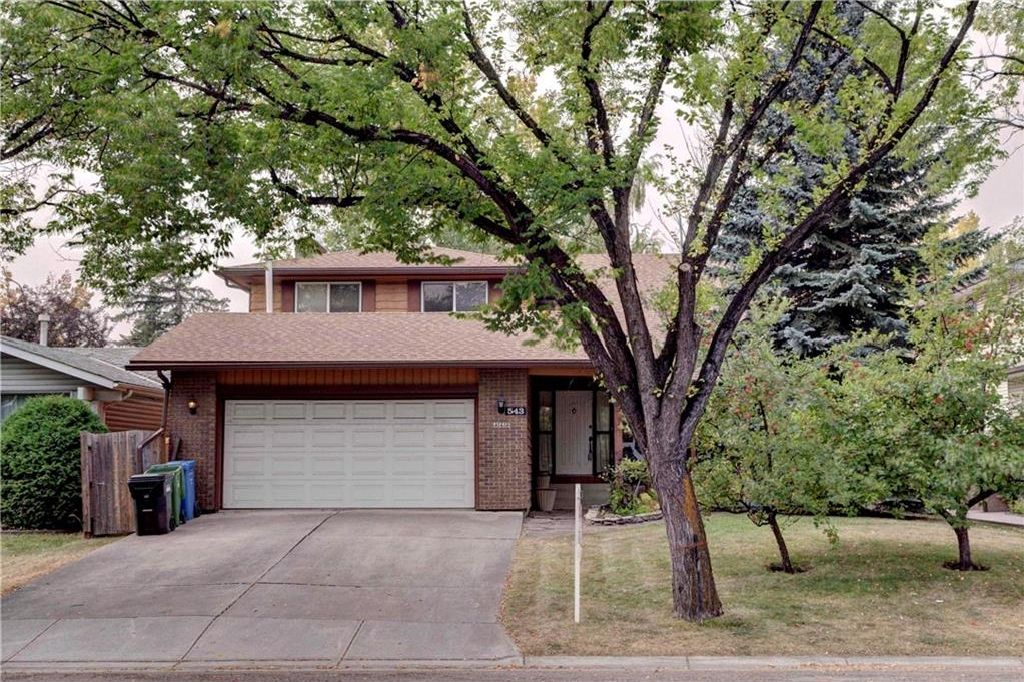 Main Photo: 543 WOODPARK Crescent SW in Calgary: Woodlands House for sale : MLS®# C4136852