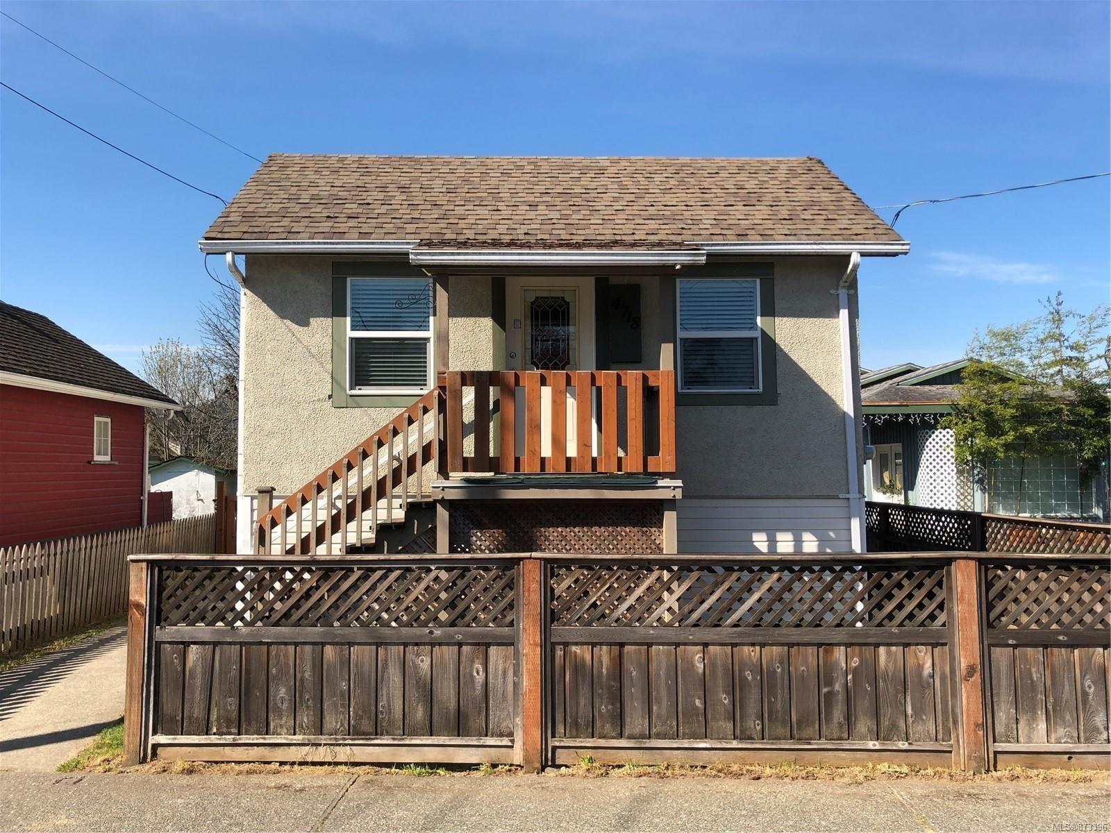 Main Photo: 4718 Gertrude St in : PA Port Alberni House for sale (Port Alberni)  : MLS®# 873396