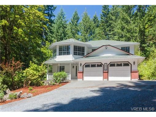Main Photo: 1825 Cliffside Rd in SHAWNIGAN LAKE: ML Shawnigan House for sale (Malahat & Area)  : MLS®# 736121