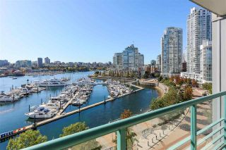 "Photo 1: 902 1067 MARINASIDE Crescent in Vancouver: Yaletown Condo for sale in ""QUAYWEST TWO"" (Vancouver West)  : MLS®# R2004364"