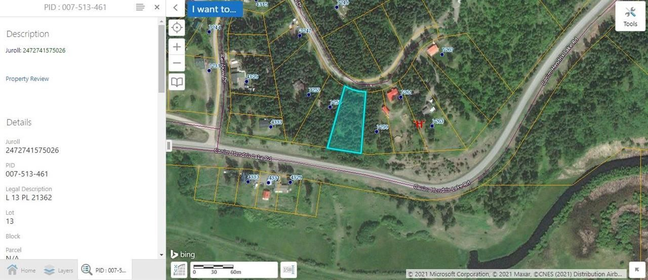 Main Photo: LOT 13 SUMMIT Road in Canim Lake: Canim/Mahood Lake Land for sale (100 Mile House (Zone 10))  : MLS®# R2575588