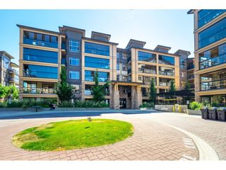 """Photo 1: A409 8218 207A Street in Langley: Willoughby Heights Condo for sale in """"Yorkson Creek (Final Phase) Walnut Ridge"""" : MLS®# R2597596"""