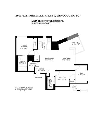 """Photo 29: 2601 1211 MELVILLE Street in Vancouver: Coal Harbour Condo for sale in """"THE RITZ"""" (Vancouver West)  : MLS®# R2625301"""