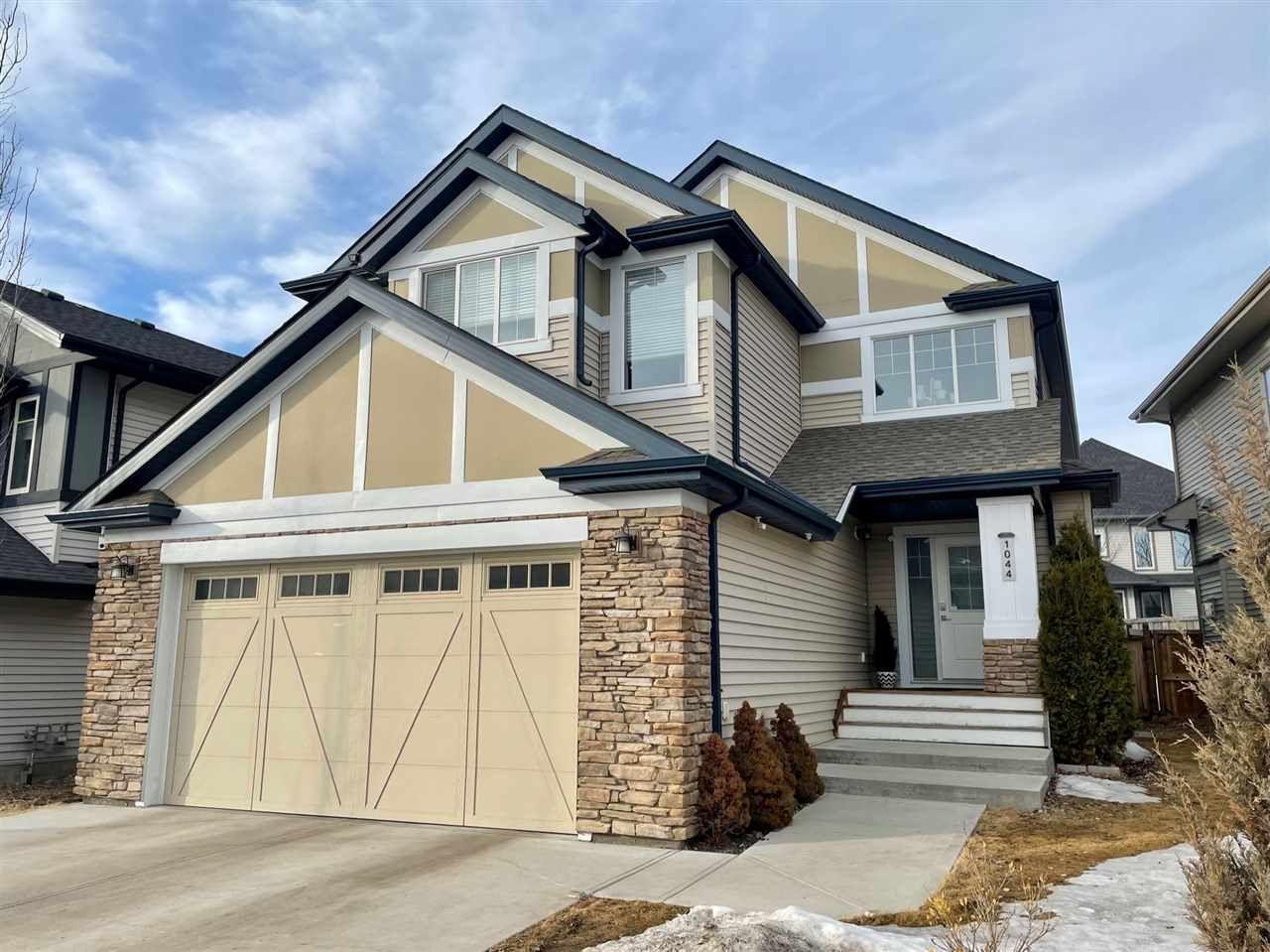 Main Photo: 1044 ARMITAGE Crescent in Edmonton: Zone 56 House for sale : MLS®# E4232773