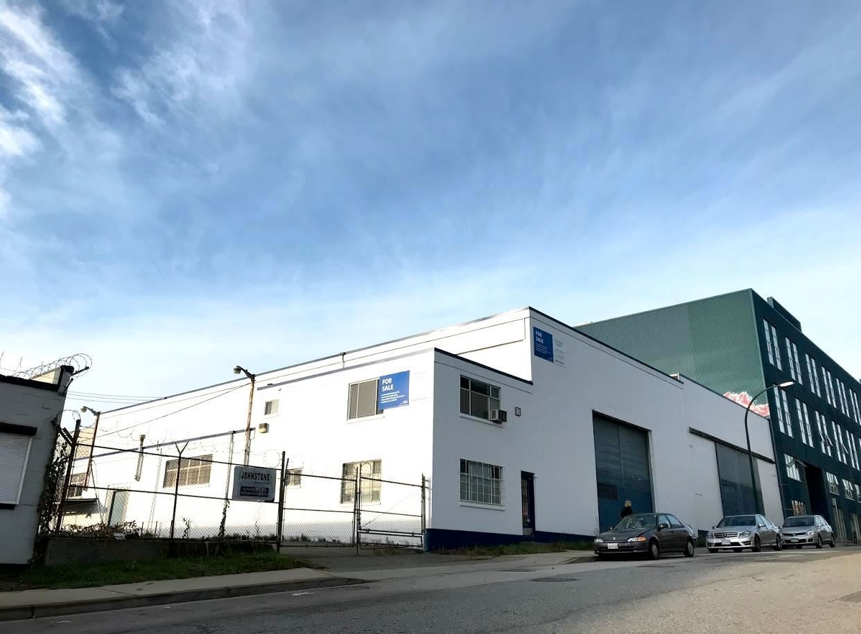 Main Photo: 1250 E PENDER Street in Vancouver: Strathcona Industrial for lease (Vancouver East)  : MLS®# C8038132