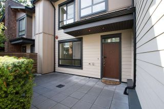 """Photo 1: 12 3728 THURSTON Street in Burnaby: Central Park BS Townhouse for sale in """"THURSTON"""" (Burnaby South)  : MLS®# R2493897"""