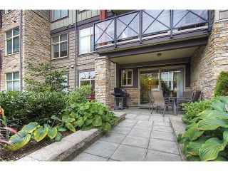 "Photo 2: 114 2336 WHYTE Avenue in Port Coquitlam: Central Pt Coquitlam Condo for sale in ""CENTREPOINTE"" : MLS®# V973270"