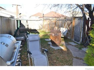Photo 11: 482 Garlies Street in WINNIPEG: North End Residential for sale (North West Winnipeg)  : MLS®# 1528236