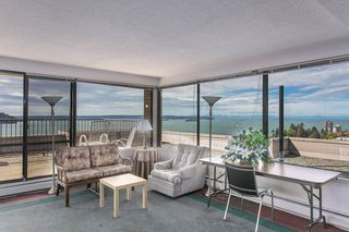 """Photo 18: 801 555 13TH Street in West Vancouver: Ambleside Condo for sale in """"PARKVIEW TOWERS"""" : MLS®# R2105654"""