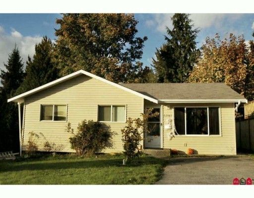 Main Photo: 32461 WIDGEON AVENUE in MISSION: House for sale