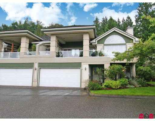 """Main Photo: 33 4001 OLD CLAYBURN Road in Abbotsford: Abbotsford East Townhouse for sale in """"CEDAR SPRINGS"""" : MLS®# F2901571"""